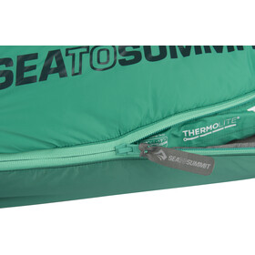 Sea to Summit Traverse TvIII Sleeping Bag regular, forrest/pine